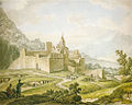 Ivanov Michail Matveevich - Fortress-monastery in Georgia.jpg