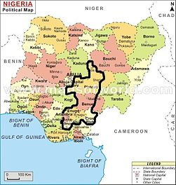 Atlas Of Nigeria Wikimedia Commons
