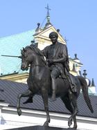 Józef Poniatowski Monument in Warsaw