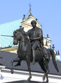 Józef Poniatowski Monument in Warsaw.PNG