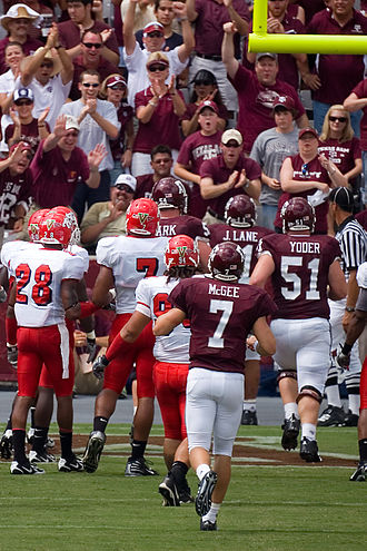 2007 Texas A&M Aggies football team - Jorvorskie making his first of four touchdowns of the game