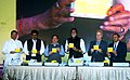 "J.P. Nadda the launching the media campaign on ""HEPATITIS B"", in Mumbai on November 23, 2015. The UNICEF Goodwill Ambassador, Shri Amitabh Bachchan and other dignitaries are also seen.jpg"