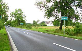 Jaźwiny, Sierpc County Village in Masovian Voivodeship, Poland