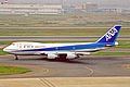 JA8156 B747-SR81 ANA All Nippon Aws HND 23MAY03 (8461306504).jpg