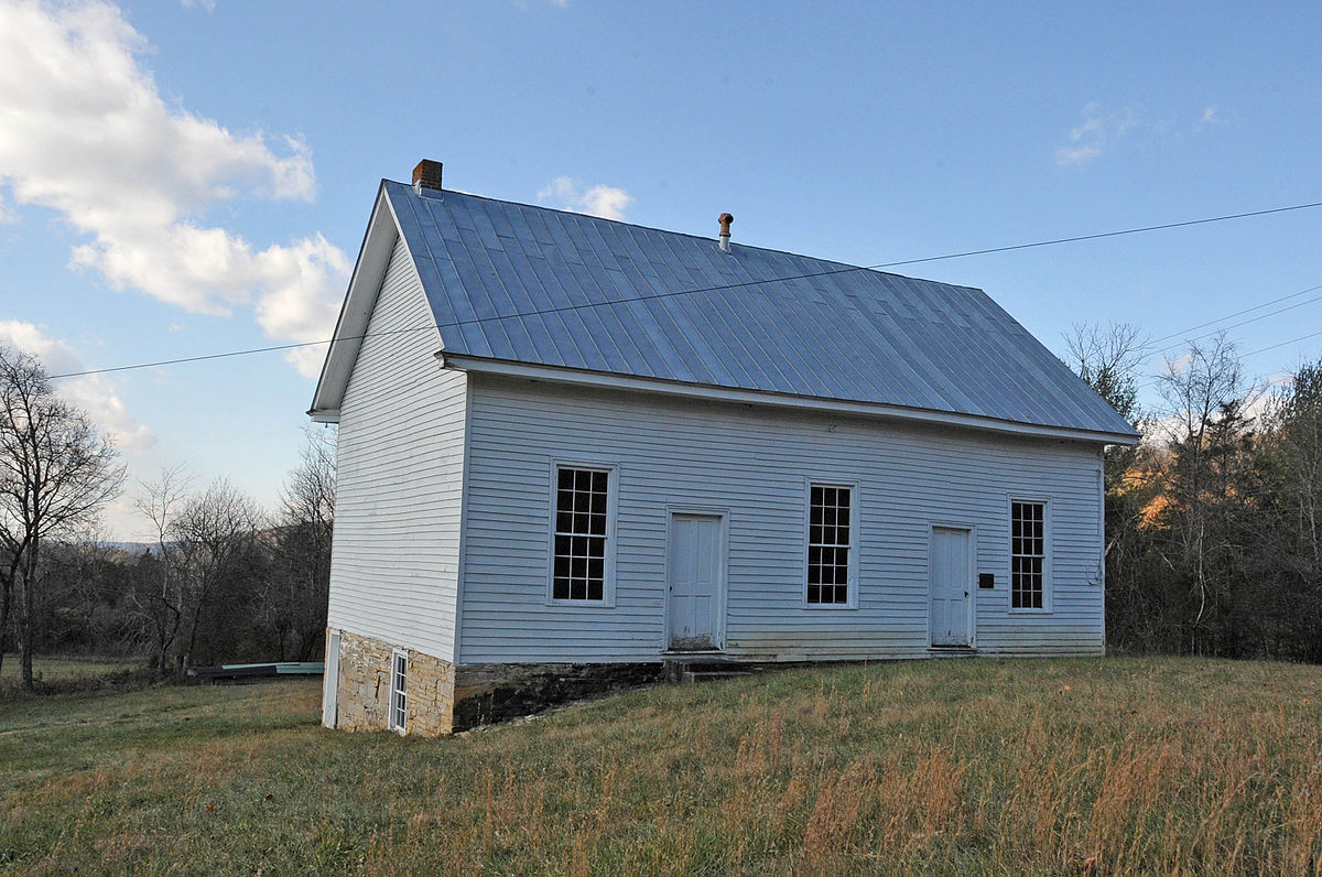 Px Johnsville Meetinghouse C Roanoke County