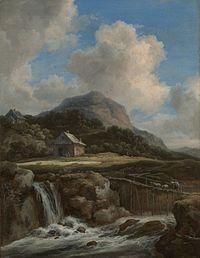 Jacob van Ruisdael - Mountain Torrent MET.jpg