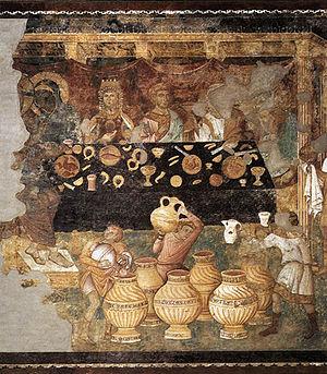 Jacopo Torriti - Marriage at Cana by Torritti.
