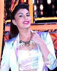 Jacqueline Fernandez posing front of the camera