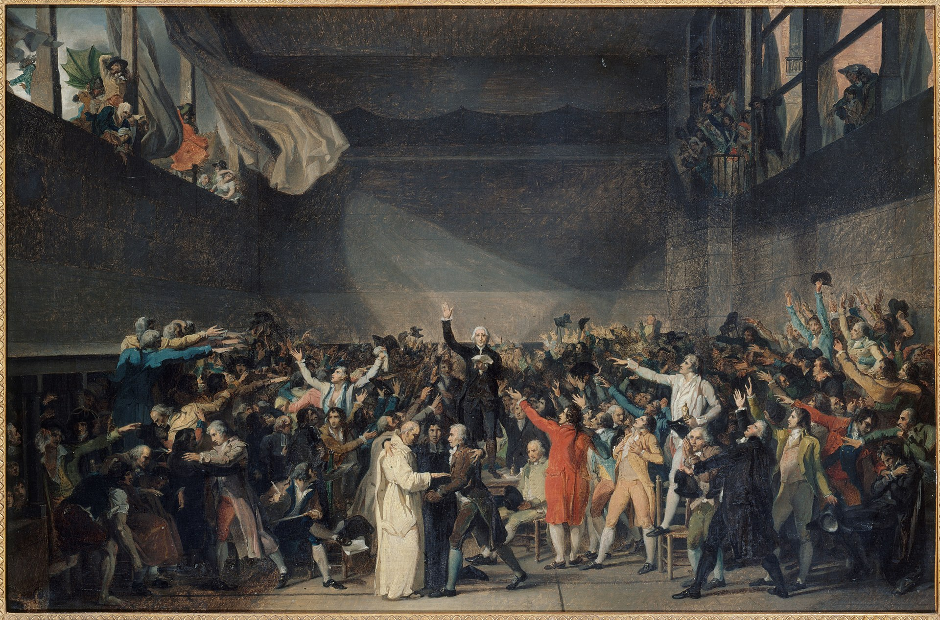 Serment du Jeu de paume - Révolution - France - Jacques Louis David - Peinture - SchoolMouv - Histoire - CM1