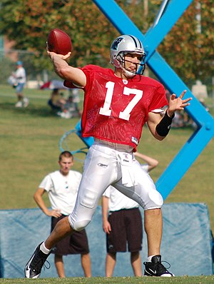 Jake Delhomme - Delhomme in 2008