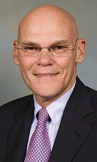 James Carville political writer, consultant and United States Marine