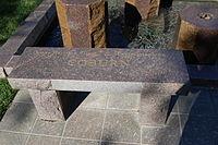 James Coburn grave at Westwood Village Memorial Park Cemetery in Brentwood, California.JPG