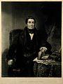 James Johnson. Mezzotint by G. H. Phillips, 1835, after J. W Wellcome V0003120.jpg