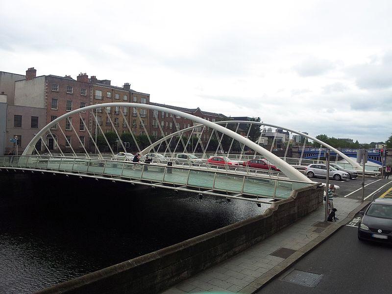 Il ponte di James Joyce di Calatrava