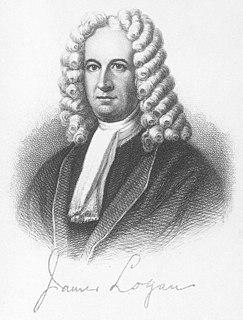 James Logan (statesman) Scots-Irish emigrant to the colony of Pennsylvania