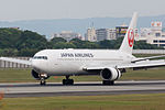 Japan Airlines, B767-300, JA622J (21304557204).jpg