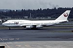 Japan Airlines Boeing 747-446 (JA8087-26346-897) (13486443463).jpg