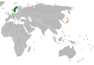 Diplomatic relations between Japan and the Kingdom of Sweden