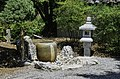 Japanese Garden Stone Cistern Fountain and Lantern NBG LR.jpg