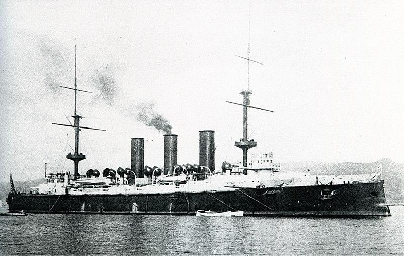 Yakumo Japan  City new picture : Japanese cruiser Yakumo at Kobe Wikipedia, the free ...