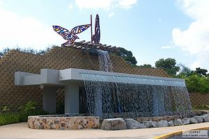 Caguas, Puerto Rico - Entrance to the Botanic and Cultural Gardens