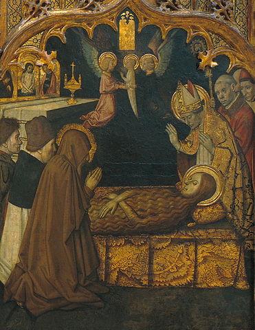 «Смерть Марии Магдалины». Картина Хайме Уге, 1465—1480