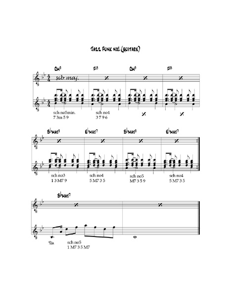 Fichier:Jazz Funk no1 (guitare).pdf