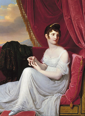 Thérésa Tallien - Portrait of Madame Tallien, by Jean-Bernard Duvivier, 1806