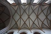 Jelenia Góra Kościół Świętych Erazma i Pankracego Sklepienie prezbiterium 01.JPG