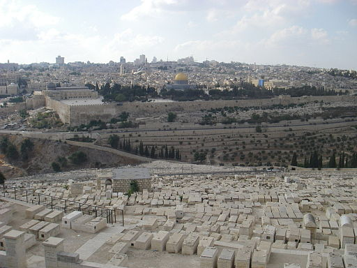 Jerusalem City from the Bible
