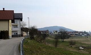 Ježa Place in Upper Carniola, Slovenia