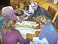 Jigsaw puzzling Our Community Place Harrisonburg VA March 2009.jpg