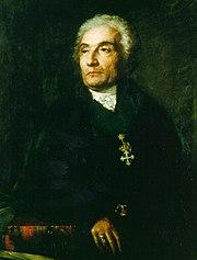 Joseph de Maistre (portrait by Karl Vogel von Vogelstein, ca. 1810)