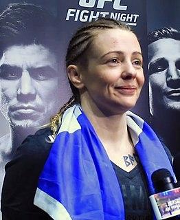 Joanne Calderwood Scottish mixed martial arts fighter