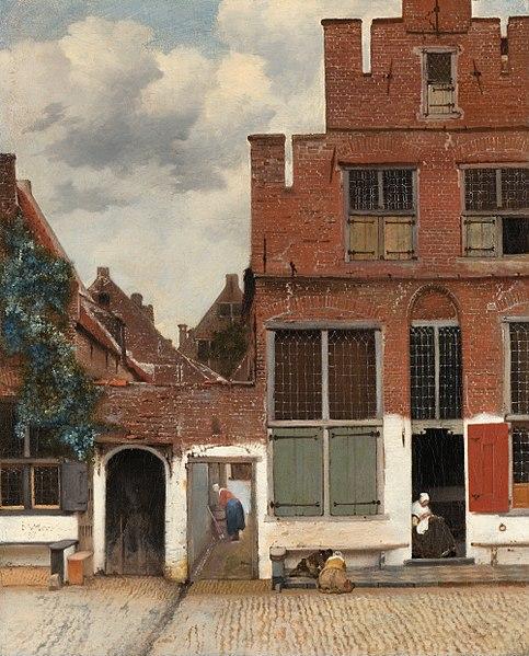 File:Johannes Vermeer - Gezicht op huizen in Delft, bekend als 'Het straatje' - Google Art Project.jpg