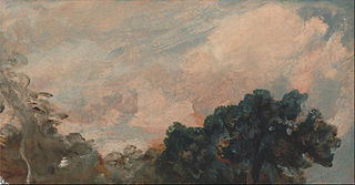 Cloud Study with Tree