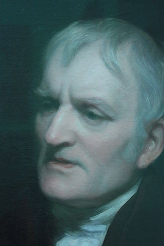 Thomas Phillips - John Dalton in old age (detail) by Thomas Phillips