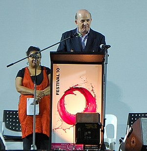 John Day (Australian politician) - John Day at the opening of Perth International Arts Festival 2010.