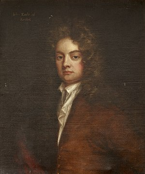 John Hervey, 1st Earl of Bristol - A painting of John Hervey after Godfrey Kneller