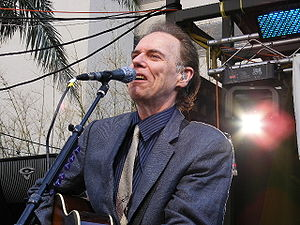 English: John Hiatt performing at South by Sou...
