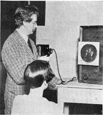 Mechanical television - Baird and his television receiver