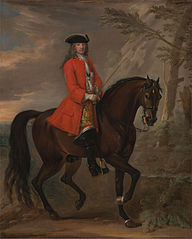 Portrait of a Man on Horseback