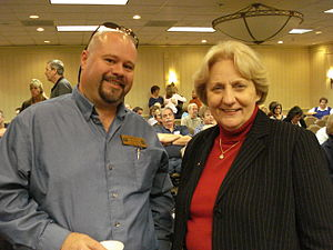 Jeanette Dwyer - With Alabama State Steward Johnny Miller