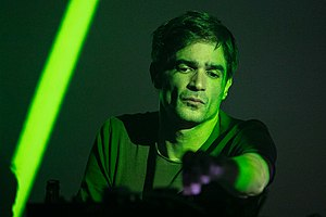 Jon Hopkins at Rockefeller Music Hall in Oslo, Norway. Photo: Stian Schløsser Møller