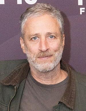 Jon Stewart - Stewart at the 2016 Montclair Film Festival