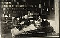Jonas og Tomasine Lie i sit arbeidsværelse, ca 1906 (6880123789).jpg