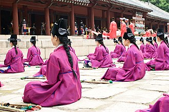 Jongmyo jerye - Image: Jongmyo DSC 6884