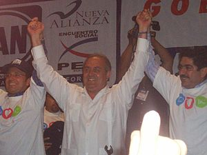 Baja California state election, 2007 - José Guadalupe Osuna Millán is proclamated winning candidate