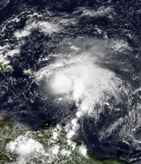 Category 2 Atlantic hurricane in 1999