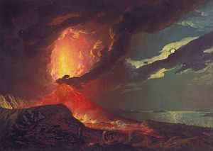 Vesuvius in Eruption (Wright painting) - Image: Joseph Wright of Derby Vesuvius in Eruption, with a View over the Islands in the Bay of Naples Google Art Project